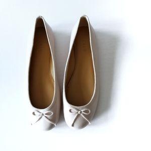 J. Crew   Coco Leather Ballet Flats